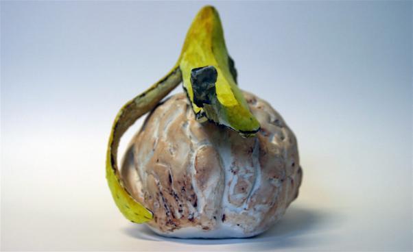 Frukt i keramik. Foto