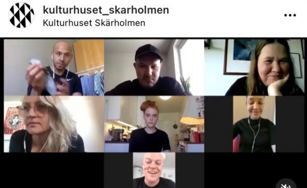 7 skådespelare i zoom
