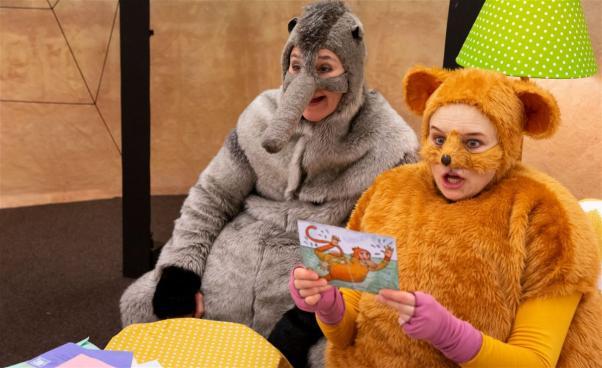 konstiga djur barnteater