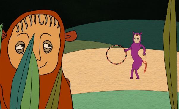 Bild på Flodhästen och hästen